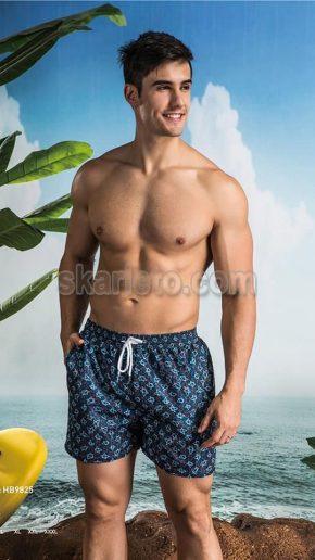 Мъжки бански тип шорти 9825